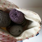 {Custom Order :: Meg's knitting bag}