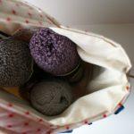 {Custom Order :: Meg's knitting bag}