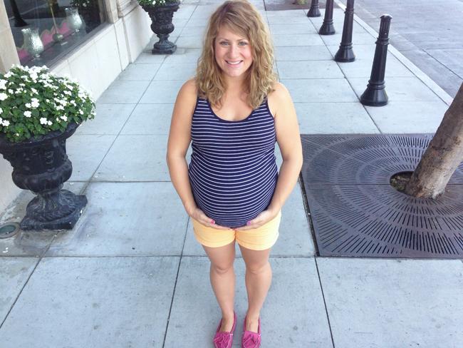 pregnancy maggie whitley