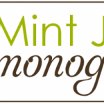 {feature & giveaway :: Mint Julep Monograms}