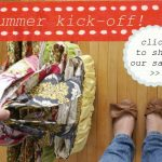 {Saturday shopping – Gussy Sews summer kick-off sale!}