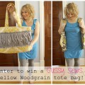 yellow woodgrain tote bag!_gussy sews ruffles
