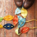 fall leaves garland tutorial