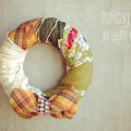 holiday wreath DIY_gussy sews ruffles