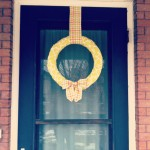 {it's not too late to make a Winter wreath for your door!}