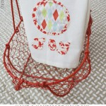 {Joy Tea Towel // DIY + sewing giveaway}
