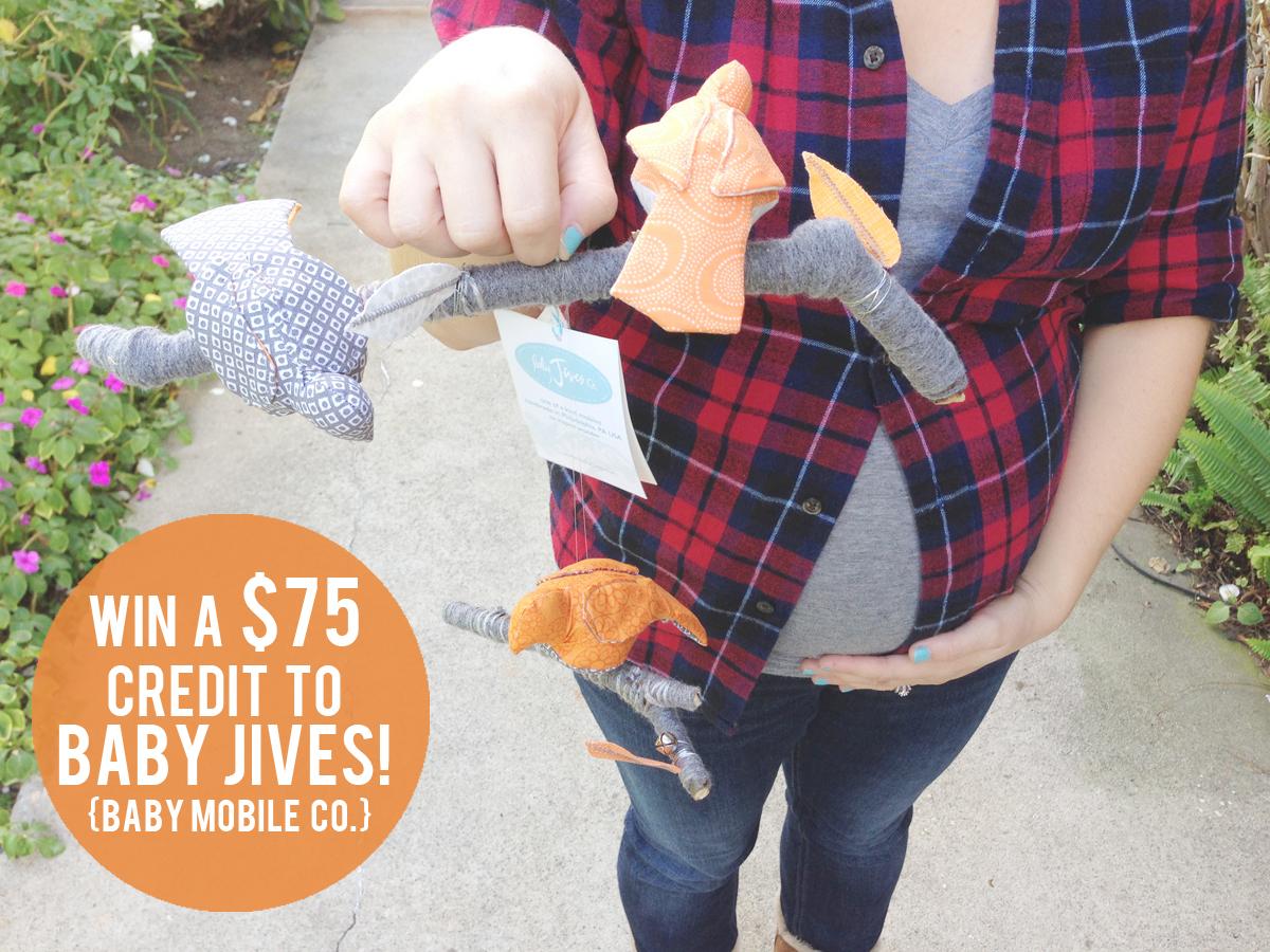{Baby Jives // a super adorable giveaway.}