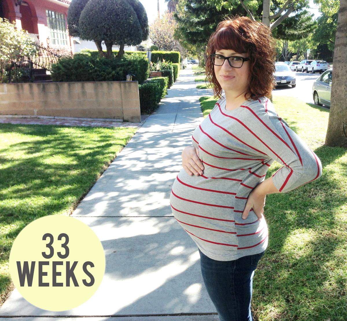 {Baby Bump — 33 week update}