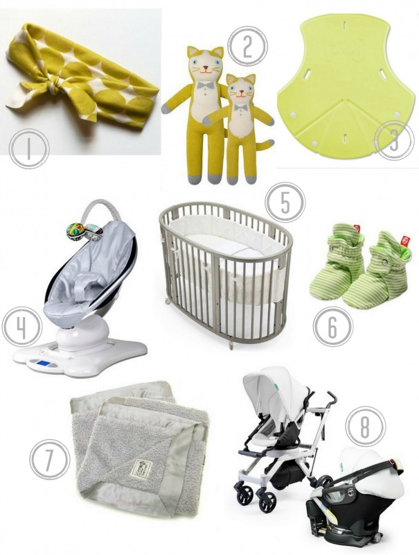 {Our top 8 baby gear favorites…}