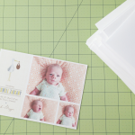 {Maxwell's birth announcement, plus a giveaway from Minted!}