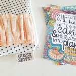 It's a Gussy Sews and Pen & Paint giveaway!