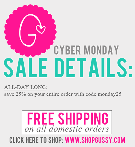 Cyber Monday sale: save ALL DAY long!