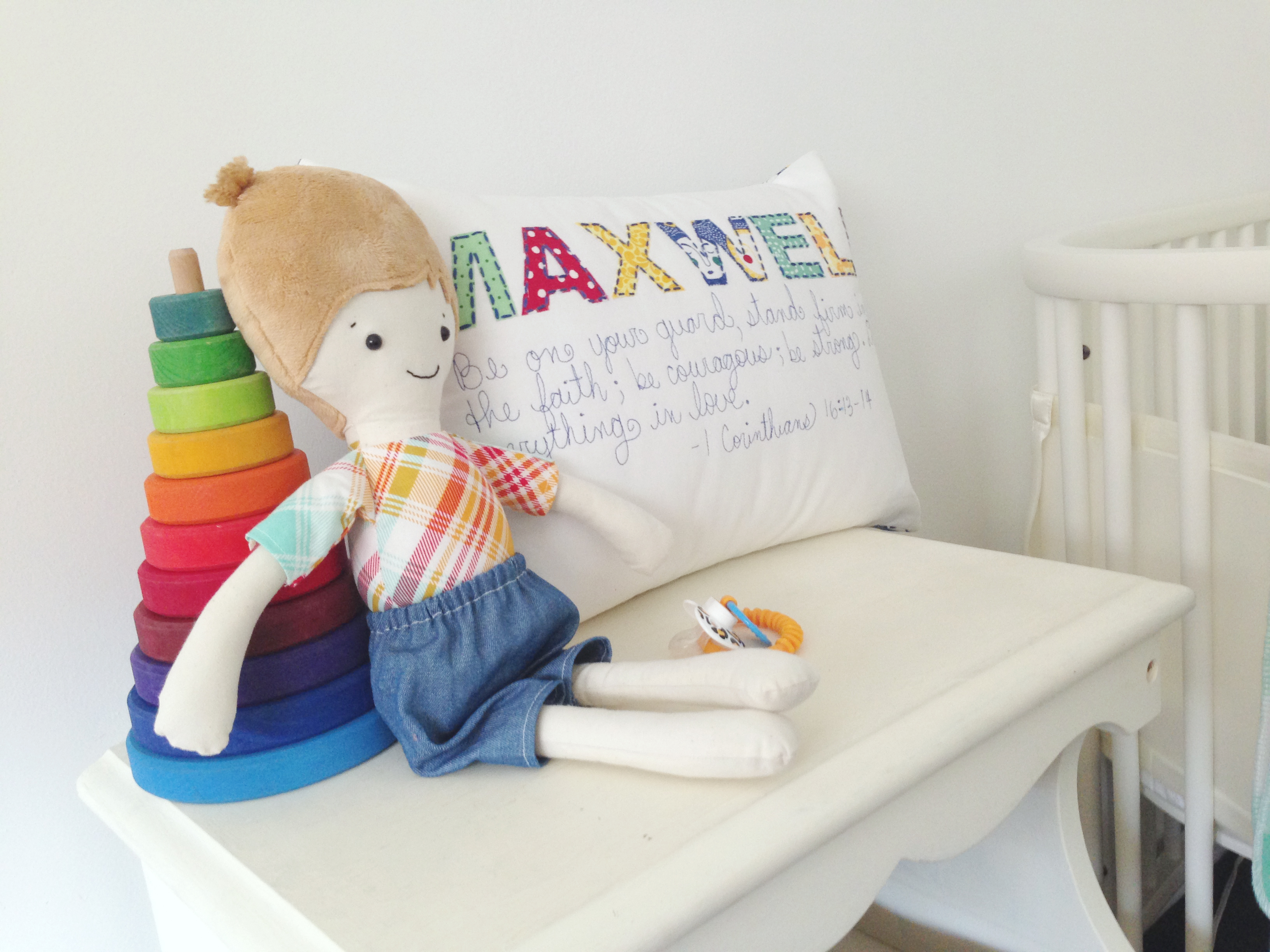 How we created Maxwell's nursery nook.