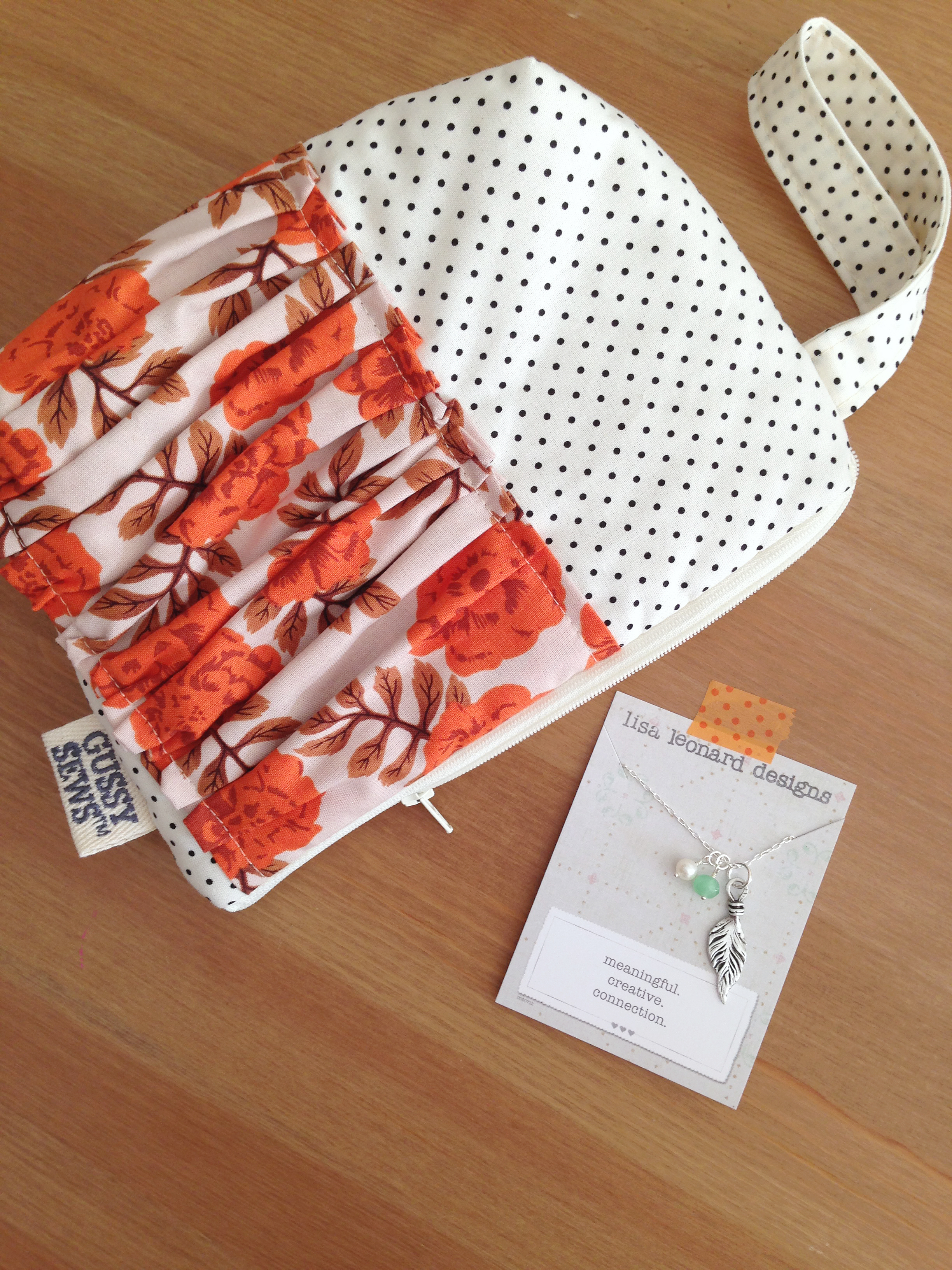 It's a Gussy Sews and Lisa Leonard giveaway!