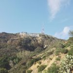 Hiking under the Hollywood sign.