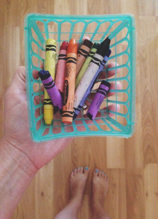 crayons maggie whitley