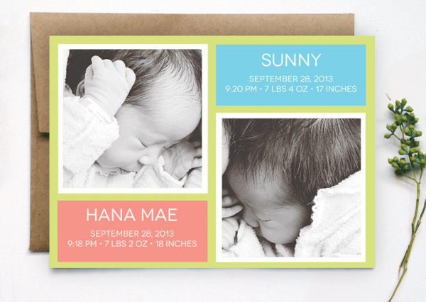 Oubly birth announcements maggie whitley
