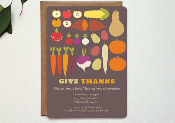 Oubly thanksgiving invites maggie whitley