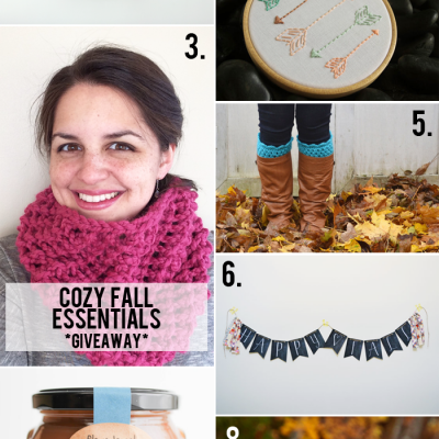 August giveaways: cozy fall essentials & back-to-school