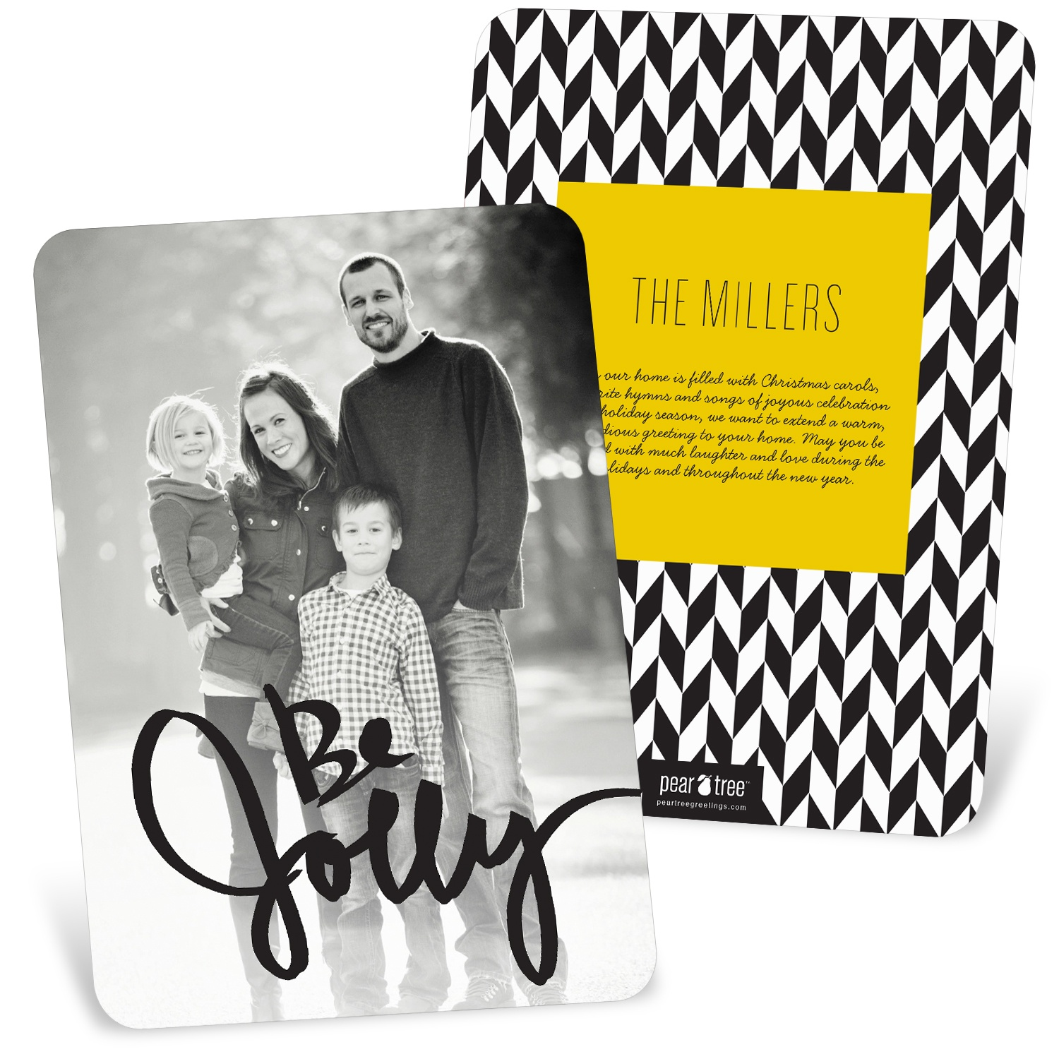 Be Jolly Photo Christmas Cards