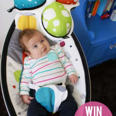 Win a mamaRoo by 4moms!