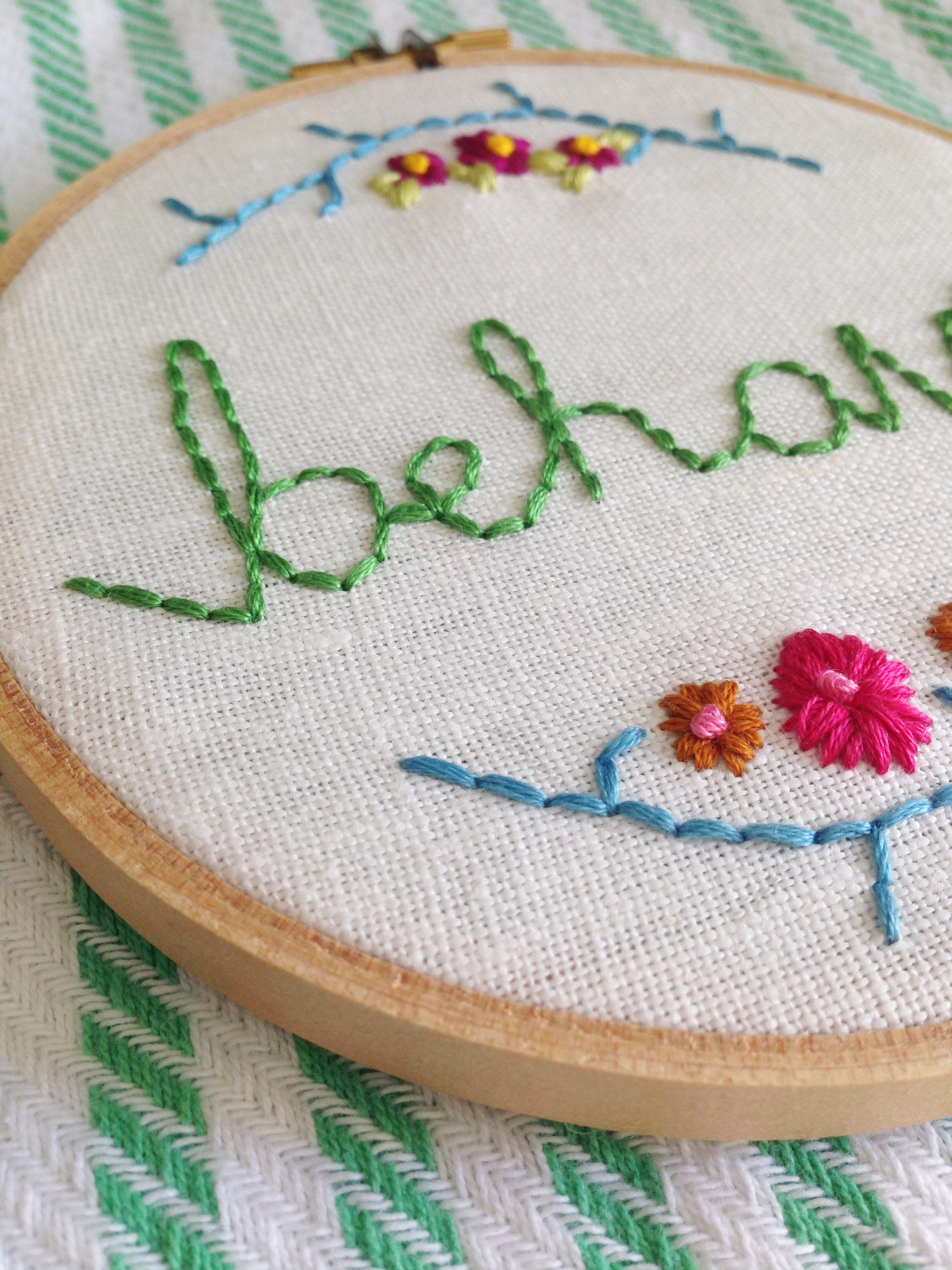 embroidery hoop art maggie whitley