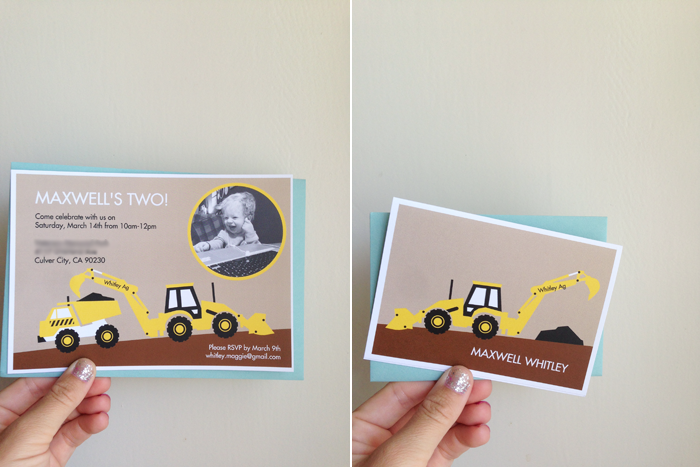 Max party invites pear tree greetings maggie whitley