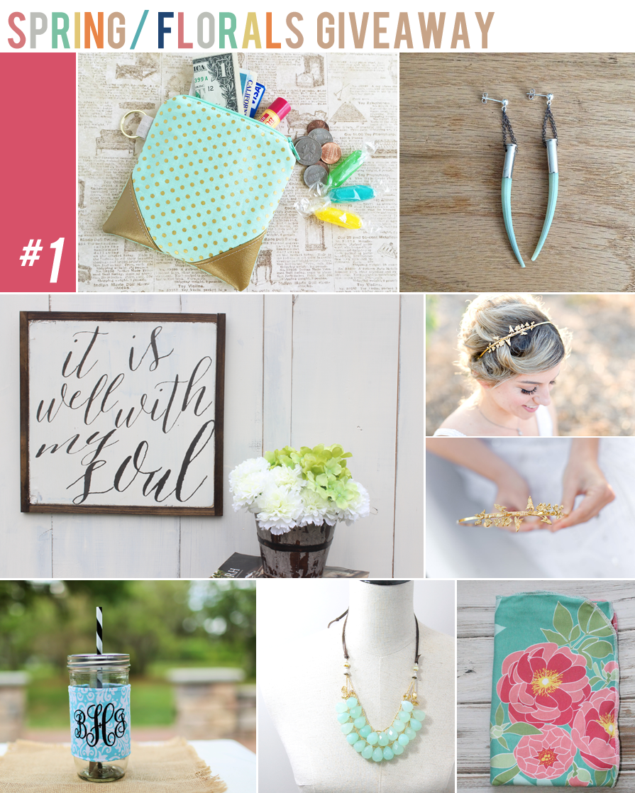 spring/floral giveaway bundle | maggie whitley designs