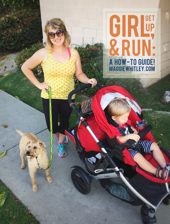 how to start running | maggie whitley designs