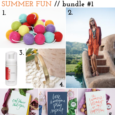 Summer bundle giveaway: over $450 in prizes