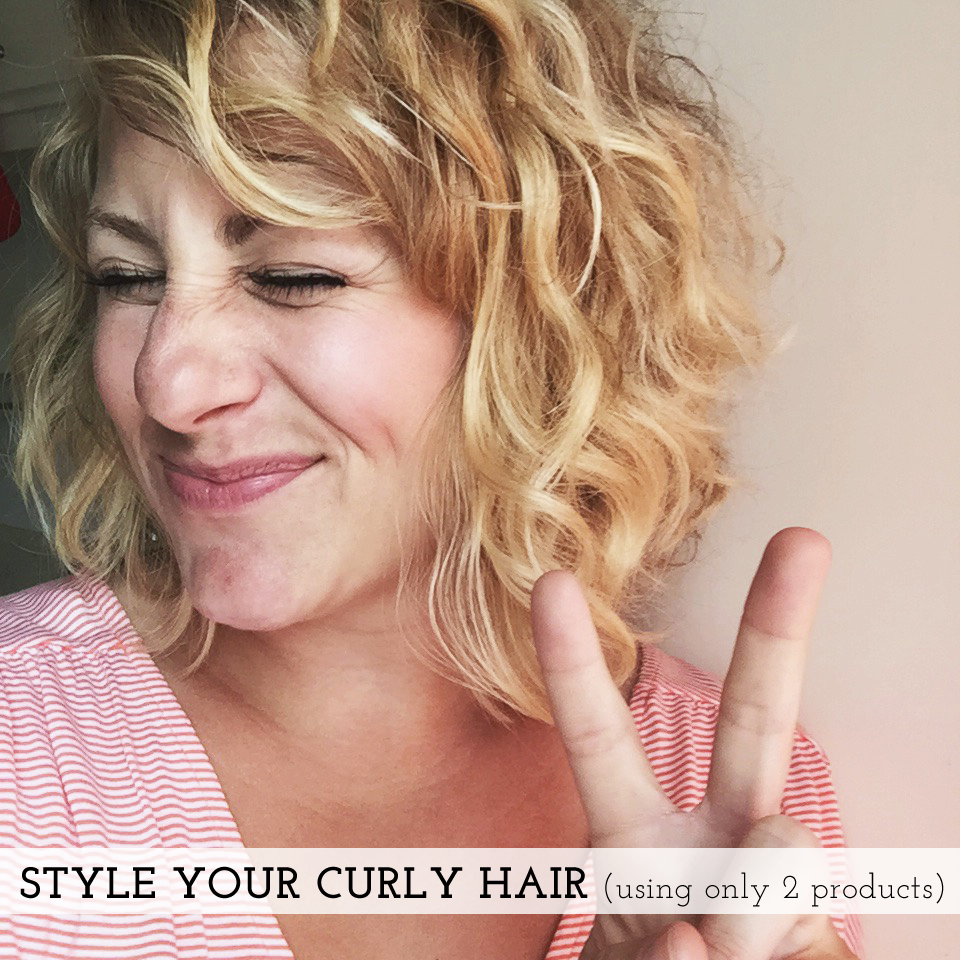 how to style your curly hair | maggie whitley designs