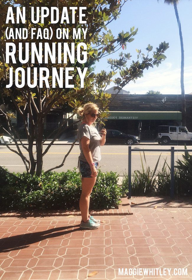 an update on my running journey | Maggie Whitley Designs