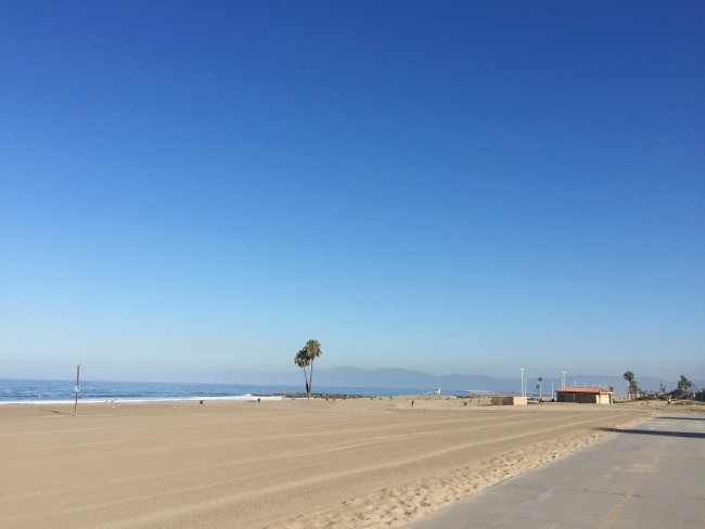 los angeles beach maggie whitley