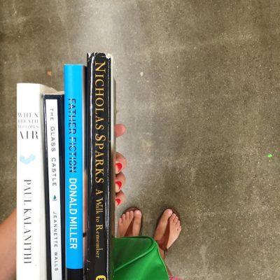 Four new books on my bookshelf!