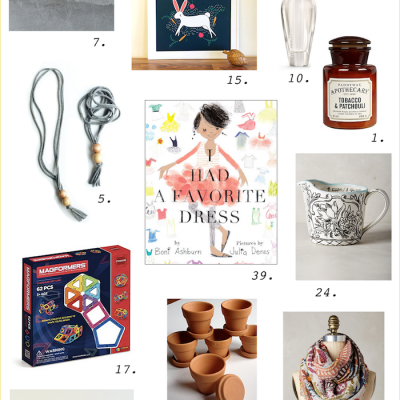 2016 Holiday Gift Guide: 40 favorites for him, her, kids & home!